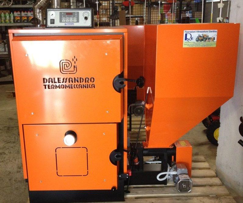 Caldaia biomassa d alessandro cs 30 ebay for Bruciatore a sansa usato