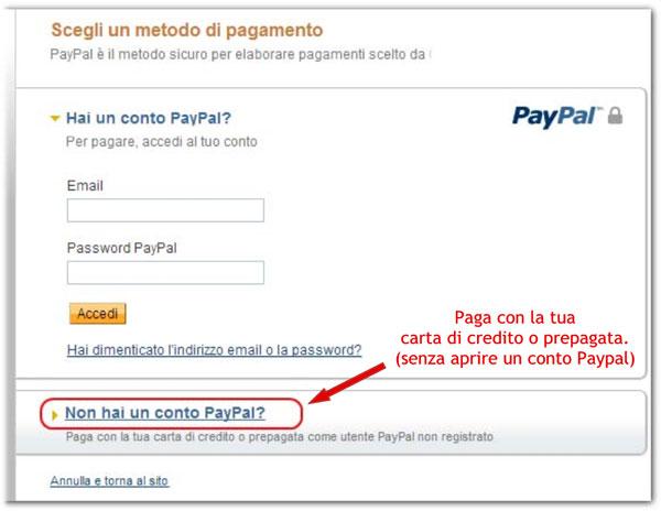 paypal-senza-carta-di-credito