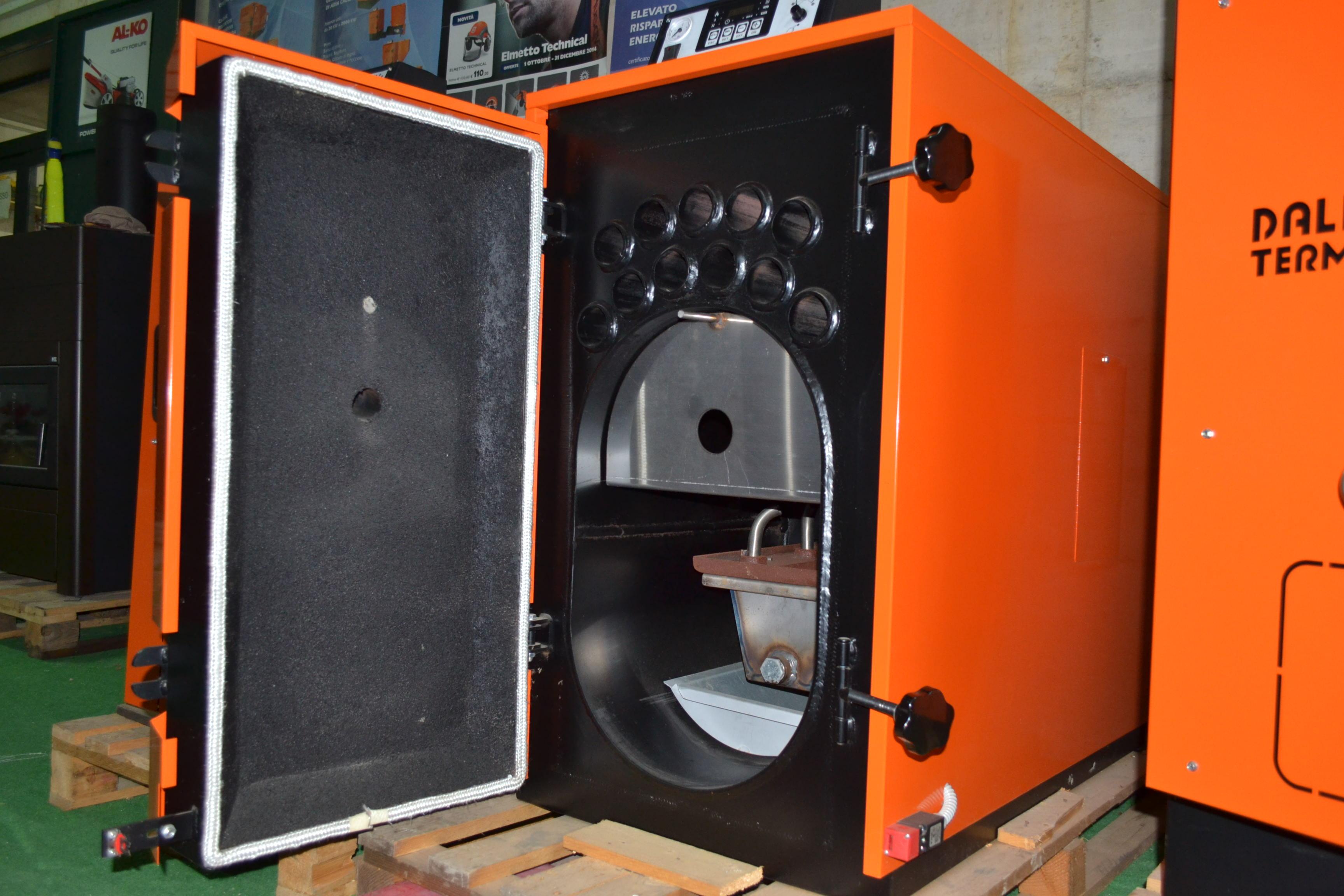 Caldaia biomassa policombustibile d 39 alessandro csi c 40 for Caldaie usate a metano