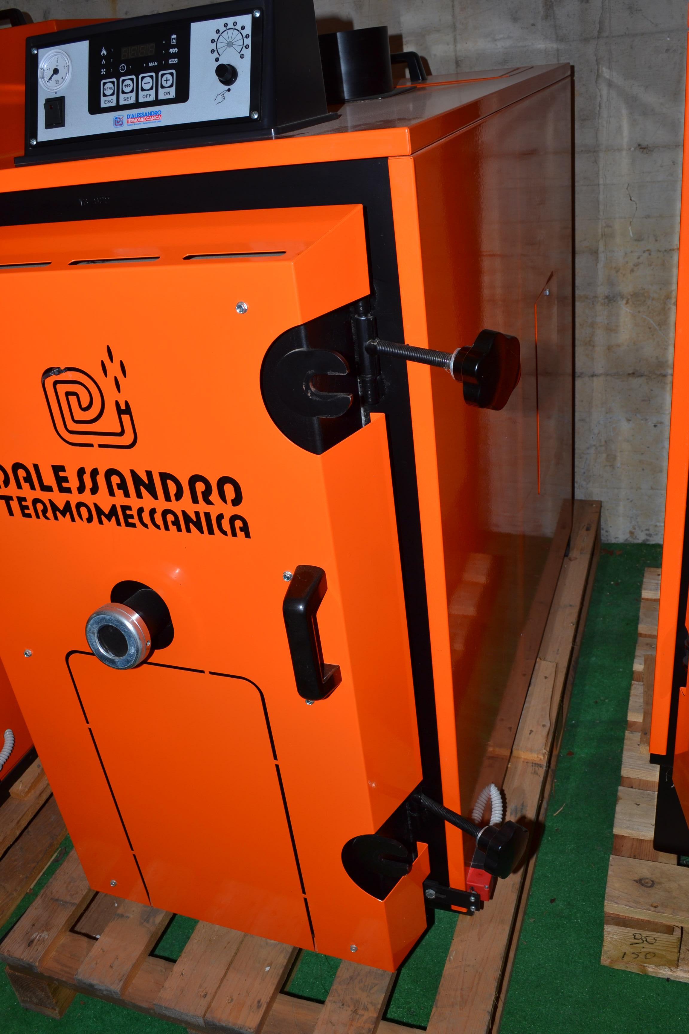 Caldaia biomassa d 39 alessandro csi c 30 r a g for D alessandro termomeccanica modello clp
